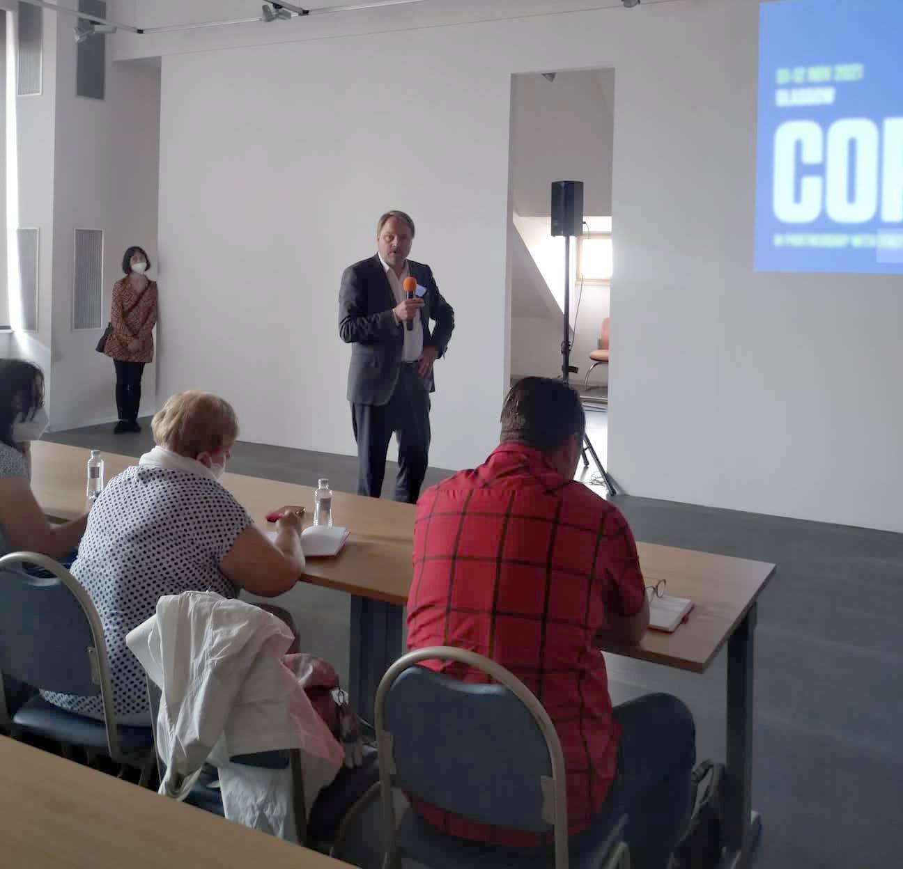 Martin Bursík představuje Klimaplán Prahy
